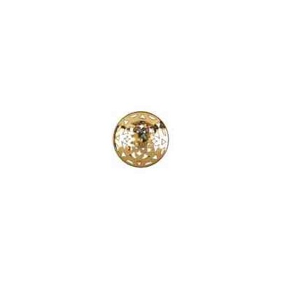 Casquilla para perla japonesa c/omega 18mm.OA.18 Kt 25008 **