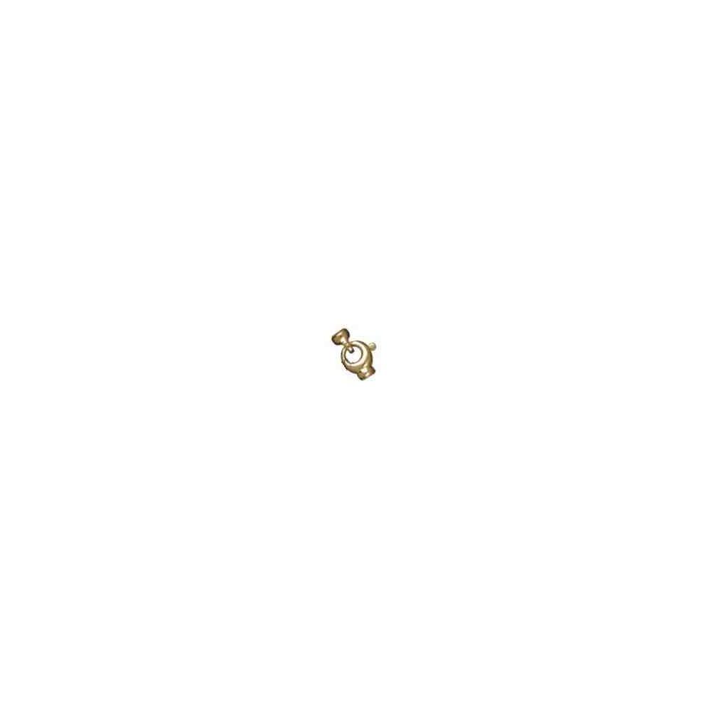 Broche de silueta con casquillas.OA.18 Kt 30873 **
