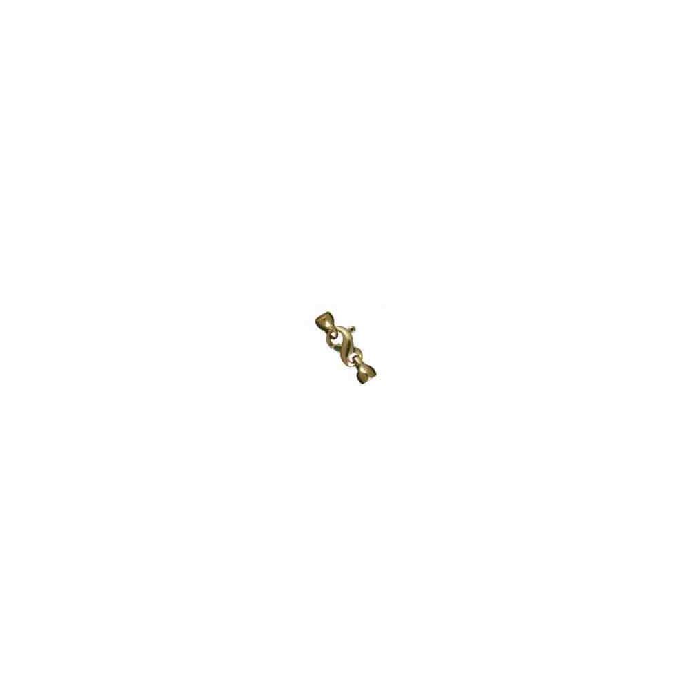 Broche de silueta con casquillas.OA.18 Kt 30874 **