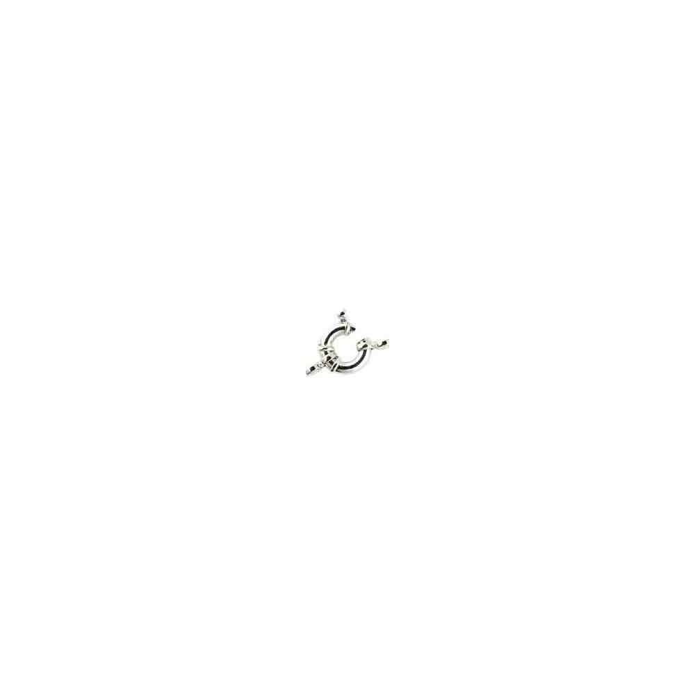 Reasa marinera c/tope y anillas ext.18mm.Tubo 4mm.AG-925 40078