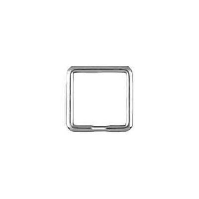 Llavero espiral silueta media caña.AG-925 48576