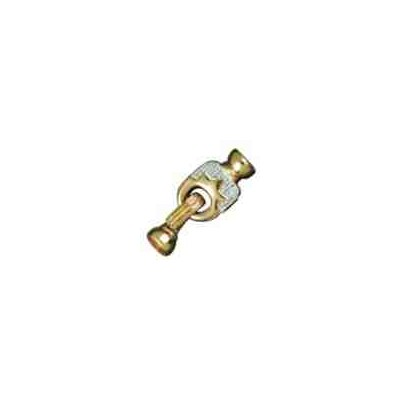 Broche de collar con casquillas.AG-925 CH. 70730