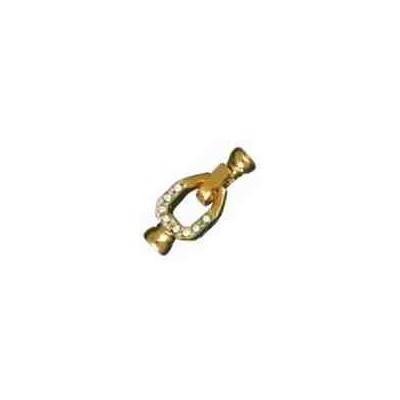 Broche de collar con casquillas.AG-925 CH. 70745