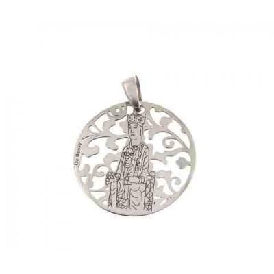 Virgen de Torreciudad en plata 25mm MTC005P