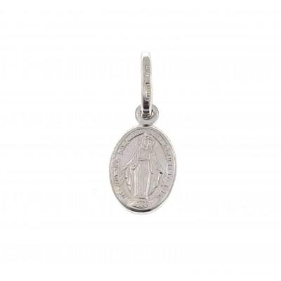 Medalla Virgen de la Milagrosa Plata de Ley 12 mm DBMM12