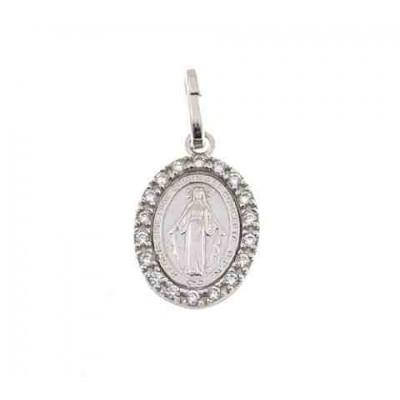 Medalla Virgen de la Milagrosa en Plata de Ley DBMMZP
