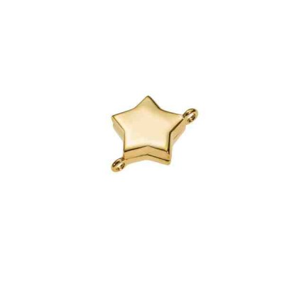 Cierre magnético dorado estrella.AG-925 74239D