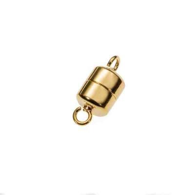 Cierre magnético dorado 7x6mm.AG-925 74241D