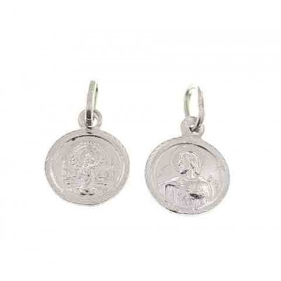 Medalla Virgen Pilar en Plata de Ley DBMPE