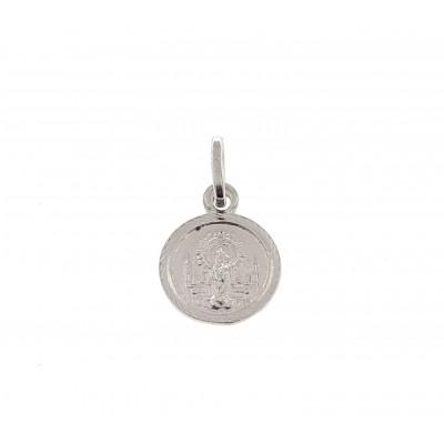 Medalla Virgen Pilar en Plata de Ley DBMP2