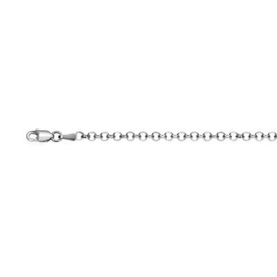 Rolo 0.50 diamantada rodiada.AG-925 94150.50R