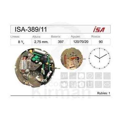 MOVIMIENTO ISA-389/11