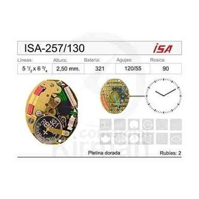 MOVIMIENTO ISA 257/130