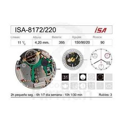 MOVIMIENTO ISA 8172/220 CAL.4H