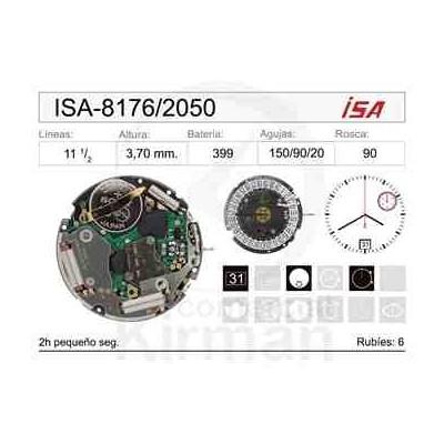 MOVIMIENTO ISA 8176/205