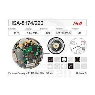 MOVIMIENTO ISA 8174/220 CAL.4H