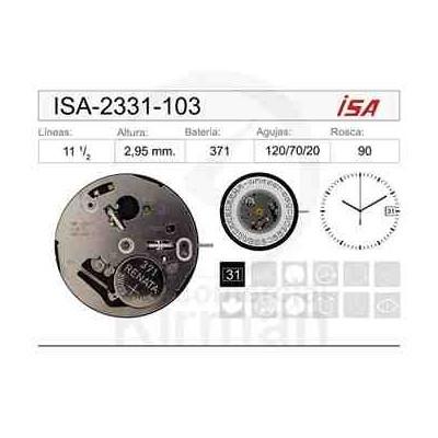 MOVIMIENTO ISA 2331-103