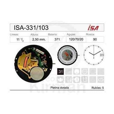 MOVIMIENTO ISA 331/103