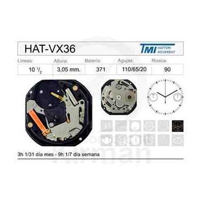 MOVIMIENTO HATTORY VX36