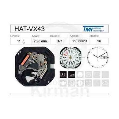 MOVIMIENTO HATTORY VX43