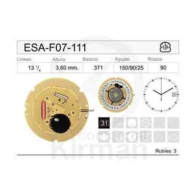 MOVIMIENTO ESA F07-111