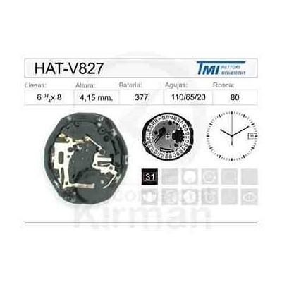 MOVIMIENTO HATTORY V827
