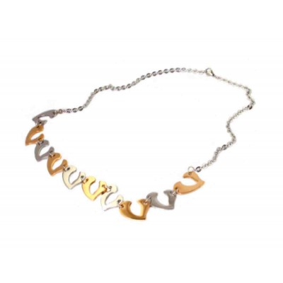COLLAR ACERO 316 L, IP GOLD N10951/SGO.00