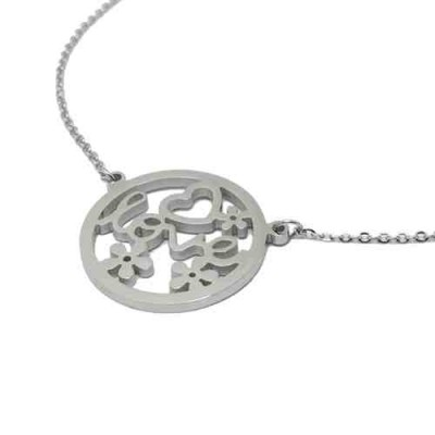 COLLAR SS 316 L, LOVE FLORES, 25 mm N14961/SSO.01