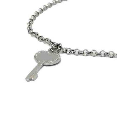 COLLAR SS 316 L, LLAVE CORAZON 25 mm N14967/SSO.00
