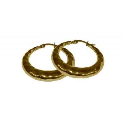 PENDIENTE ACERO 316 L, IP GOLD E10126/GOL.00