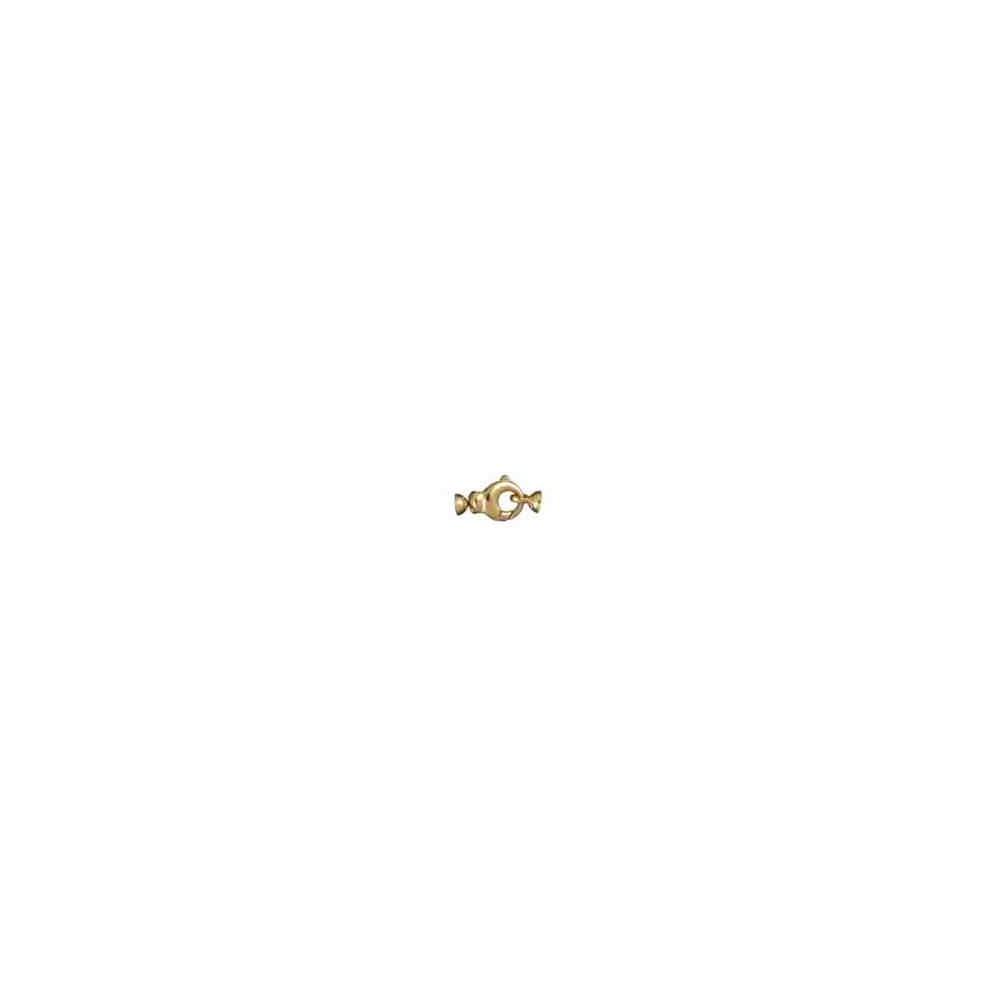 Broche de silueta con casquillas.OA.18 Kt 30858 **