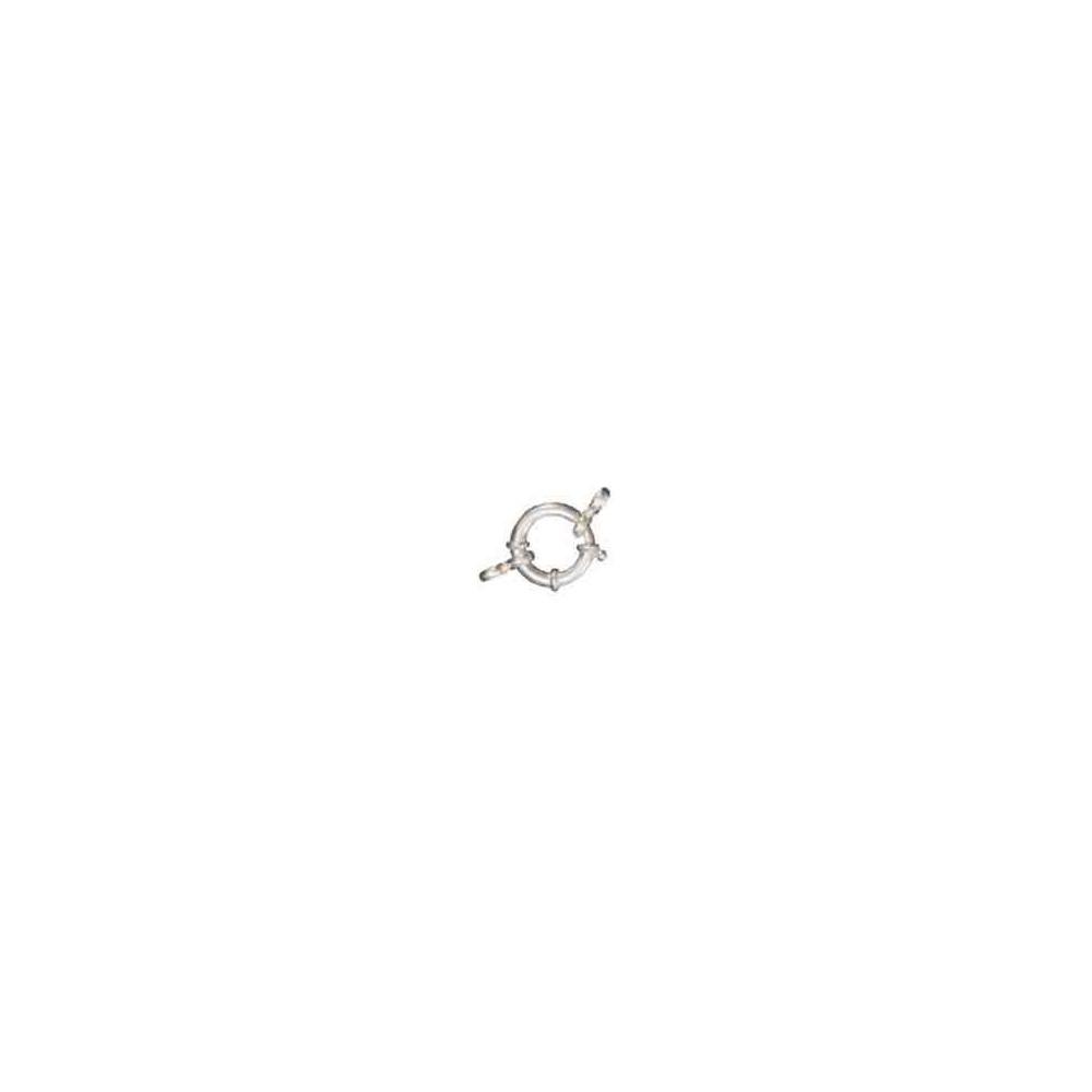 Reasa marinera c/anillas ext.18mm.Tubo 3mm.AG-925 40057