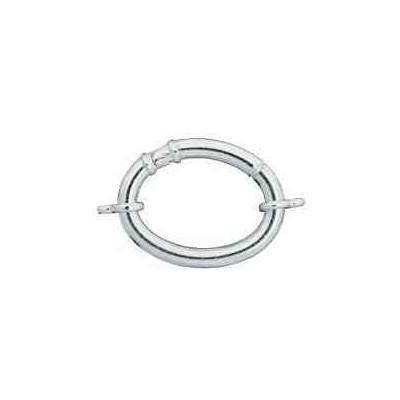 Cierre de tubo c/anillas ext.40x32mm.Tubo 5mm.AG-925 40081