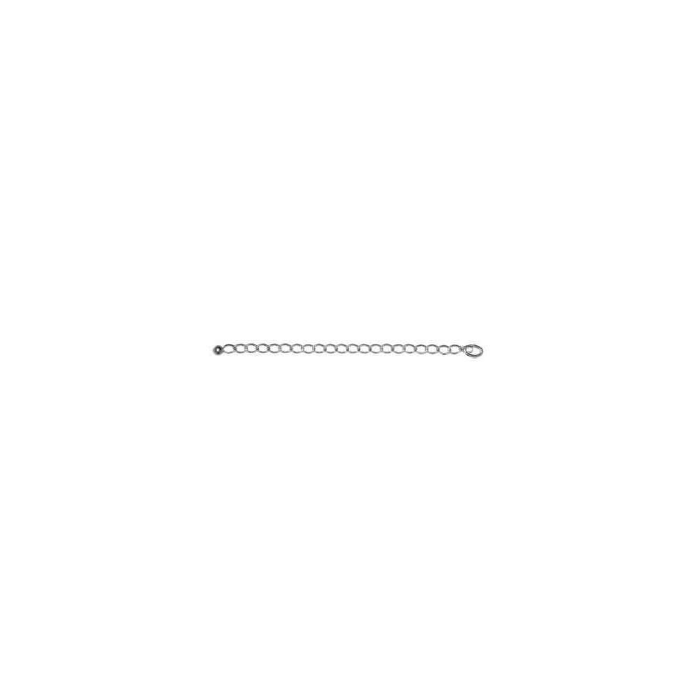 Alargador cadena Bilbao 0.6x85mm.AG-925 41631