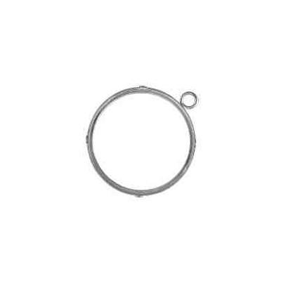 Cerco de moneda int.37.5mm.AG-925 48500