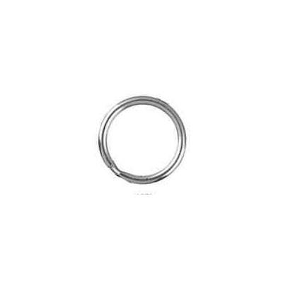 Llavero espiral media caña 29mm.AG-925 48572