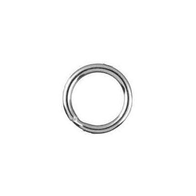 Llavero espiral media caña 33mm.AG-925 48573
