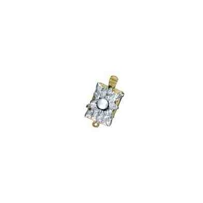 Broche de collar 1 vuelta.AG-925 CH. 70594