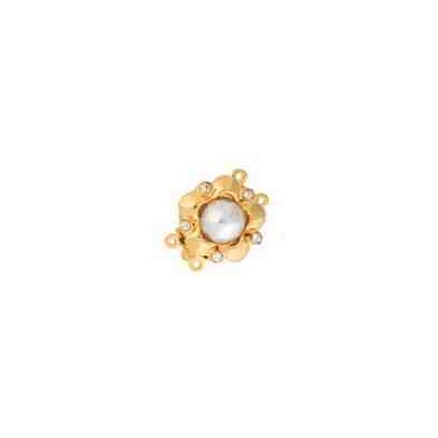 Broche de collar 2 vueltas.AG-925 CH. 70830
