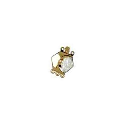 Broche de collar 1 vuelta.AG-925 CH. 70974