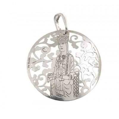 Virgen de Torreciudad en plata 35mm MTC003P