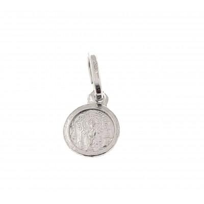 Medalla Virgen Pilar en Plata de Ley DBMP3