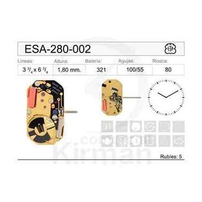 MOVIMIENTO ESA 280-002