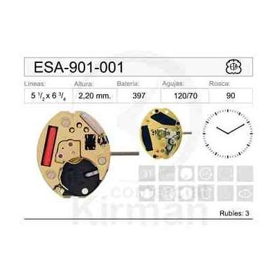 MOVIMIENTO ESA 901-001