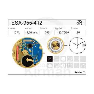 MOVIMIENTO ESA 955-412