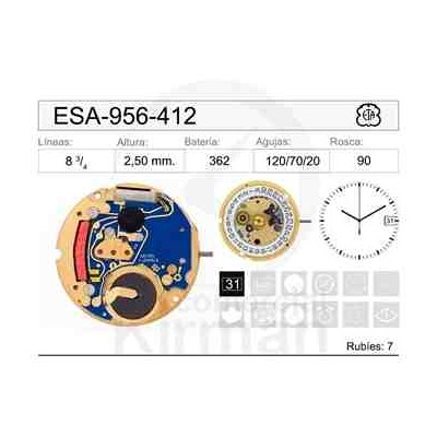 MOVIMIENTO ESA 956-412