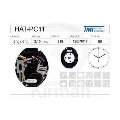 MOVIMIENTO HATTORY PC11