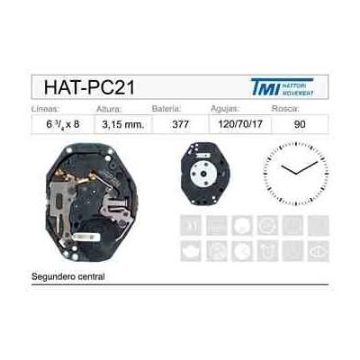 MOVIMIENTO HATTORY PC21