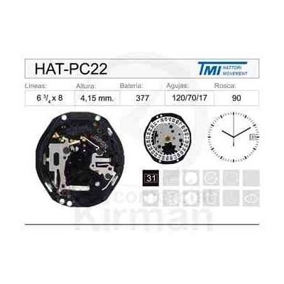 MOVIMIENTO HATTORY PC22
