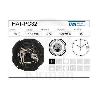 MOVIMIENTO HATTORY PC32